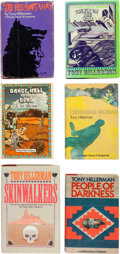 Books:Mystery & Detective Fiction, Tony Hillerman. Group of Six SIGNED AND INSCRIBED Books by TonyHillerman. New York: Harper & Row, 1970 -1986.... (Total: 6Items)