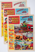 Memorabilia:Disney, Mickey Mouse Weekly British Tabloid Group (Walt Disney/Willbank Productions, 1957).. ... (Total: 23 Items)