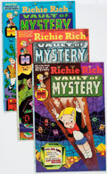 Bronze Age (1970-1979):Cartoon Character, Richie Rich Vaults of Mystery #1-47 Complete Run File Copy ShortBox Group (Harvey, 1974-82) Condition: Average NM-....