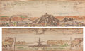 Books:Fore-edge Paintings, [Fore-Edge Paintings]. Alfred Tennyson. Poems.London: Edward Moxon & Co., 1860....