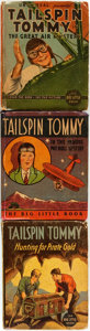 """Books:Children's Books, [Featured Lot]. [Tailspin Tommy]. Trio of Three """"Big Little Book""""Titles. Racine: Whitman Publishing Company, [various dates...(Total: 3 Items)"""