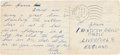 "Music Memorabilia:Autographs and Signed Items, Beatles - Ringo Starr Handwritten Postcard to His Grandmother from Hamburg, Signed ""Richy"" (Hamburg, November 9, 1..."