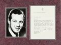 Music Memorabilia:Autographs and Signed Items, Beatles - Brian Epstein Typed Letter Signed to Peter Eckhorn of theTop Ten Club in Hamburg in Matted Display (Liverpool, Janu...