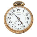 Timepieces:Pocket (post 1900), Illinois 21 Jewel Open Face Pocket Watch. ...