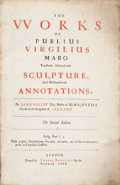 Books:Literature Pre-1900, [Virgil]. John Ogilby, translator. The Works of PubliusVirgilius Maro Translated, Adorned with Sculpture, AndIllustrat...