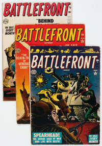 Battlefront Group of 8 (Atlas, 1952-54) Condition: Average GD.... (Total: 8 Items)