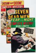Golden Age (1938-1955):Horror, Complete Mystery #1-4 Group (Marvel, 1948-49).... (Total: 4 Items)