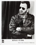 Music Memorabilia:Autographs and Signed Items, Beatles - Ringo Starr Signed Promo Photo (Circa 1992). ...