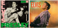 Music Memorabilia:Recordings, Elvis Presley's First Two Record Albums (RCA 1254 and 1382, 1956)....