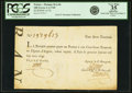 Colonial Notes:Georgia, La Banque (Royale) January 1, 1720 100 Livres SCWPM# A17b. PCGSVery Fine 35 Apparent.. ...