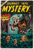 Golden Age (1938-1955):Horror, Journey Into Mystery #15 (Marvel, 1954) Condition: GD....