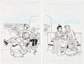 Original Comic Art:Covers, Stan Goldberg and Bob Smith Jughead's Double Digest #109 and118 Cover Original Art Group of 2 (Archie Comics, 200... (Total: 2Original Art)