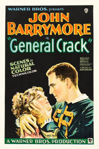 """General Crack (Warner Brothers, 1930). One Sheet (27"""" X 41"""") Style A"""