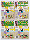 Modern Age (1980-Present):Humor, Richie Rich Vacations Digest #9 File Copy Long Box Group (Harvey,1982) Condition: Average NM-....
