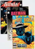 Modern Age (1980-Present):Superhero, Batman Short Box Group (DC, 1984-90) Condition: Average NM-....