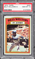 Baseball Cards:Singles (1970-Now), 1972 Topps Billy Williams IA #440 PSA Gem Mint 10....