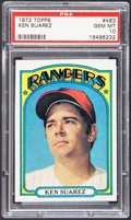 Baseball Cards:Singles (1970-Now), 1972 Topps Ken Suarez #483 PSA Gem Mint 10....