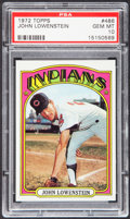 Baseball Cards:Singles (1970-Now), 1972 Topps John Lowenstein #486 PSA Gem Mint 10....