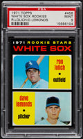 Baseball Cards:Singles (1970-Now), 1971 Topps White Sox Rookies #458 PSA Mint 9....