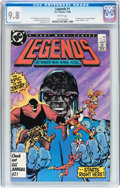 Modern Age (1980-Present):Superhero, Legends #1 (DC, 1986) CGC NM/MT 9.8 White pages....