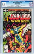 Modern Age (1980-Present):Superhero, Marvel Spotlight V2#6 Star-Lord (Marvel, 1980) CGC NM/MT 9.8Off-white to white pages....