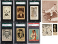 Baseball Cards:Lots, 1920's - 1930's Canadian Baseball/Rugby Card Type Group (9). ...