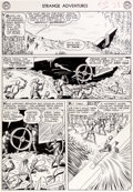 "Original Comic Art:Panel Pages, Murphy Anderson Strange Adventures #150 ""The Plant ThatHated Humans!"" Page 14 Atomic Knights Original Art (DC, 19..."