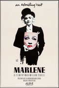 "Movie Posters:Documentary, Marlene (ABC, 1984). One Sheet (27"" X 40""). Documentary.. ..."