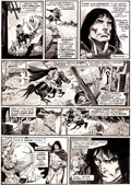 "Original Comic Art:Panel Pages, Gil Kane, Neal Adams, and Diverse Hands Savage Tales #4Conan ""Night of the Dark God"" Page 11 Original Art (Marvel..."