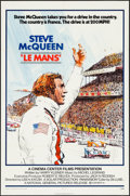 "Movie Posters:Sports, Le Mans (National General, 1971). One Sheet (27"" X 41""). Sports....."