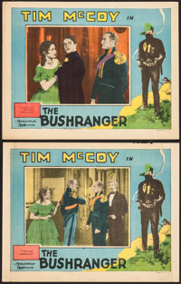 "The Bushranger (MGM, 1928). Lobby Cards (2) (11"" X 14""). Western. ... (Total: 2 Items)"