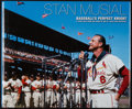 Baseball Collectibles:Publications, Stan Musial Signed Hardcover Book....