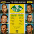 Football Collectibles:Others, 1961-63 Green Bay Packers Pro Pointers Record....