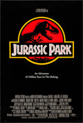 "Movie Posters:Science Fiction, Jurassic Park & Others Lot (Universal, 1993). One Sheets (4)(27"" X 40"") DS Advance & Regular Style. Science Fiction.. ...(Total: 4 Items)"
