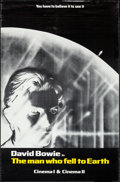 "Movie Posters:Science Fiction, The Man Who Fell to Earth (Cinema 5, 1976). Full-Bleed Half Subway(29.5"" X 45""). Science Fiction.. ..."