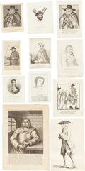 Books:Prints & Leaves, [Criminals]. Eighteen Prints of Early English Criminals and Characters. [London]: 1735-1818....