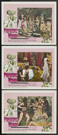 """Movie Posters:Adventure, Prehistoric Women Lot (20th Century Fox, 1966). Lobby Cards (3) andthree other Fantasy and Horror Lobby Cards (11"""" X 14""""). ... (Total:7 Items)"""
