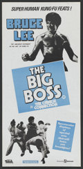 """Movie Posters:Action, The Big Boss (Filmways, late 1970s). Australian Daybill (13"""" X30""""). Action. ..."""