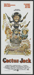 "Movie Posters:Comedy, The Villain (aka Cactus Jack) (Columbia, 1979). Australian Daybill (13.25"" X 30""). Comedy. ..."
