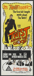 "Movie Posters:Rock and Roll, Twist Around the Clock (Columbia, 1961). Australian Daybill (13"" X30""). Rock and Roll. ..."
