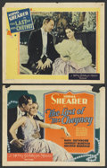 "Movie Posters:Comedy, The Last of Mrs. Cheyney (MGM, 1929). Title Lobby Card (11"" X 14"")and Lobby Card. Comedy. ... (Total: 2 Items)"