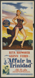 "Movie Posters:Film Noir, Affair in Trinidad (Columbia, 1952). Australian Daybill (13"" X 30""). Film Noir. ..."