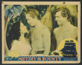 "Movie Posters:Academy Award Winner, Mutiny On The Bounty (MGM, 1935). Lobby Card (11"" X 14""). AcademyAward Winner. ..."