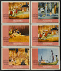 "Movie Posters:Historical Drama, Cleopatra (20th Century Fox, 1964). Lobby Cards (6) (11"" X 14"").Historical Drama. ... (Total: 6 Items)"
