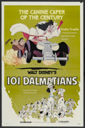 "Movie Posters:Animated, 101 Dalmatians (Buena Vista, R-1979). One Sheet (27"" X 41"").Animated. ..."