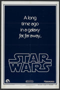 "Movie Posters:Science Fiction, Star Wars (20th Century Fox, 1977). One Sheet (27"" X 41"") AdvanceStyle B. Science Fiction. ..."