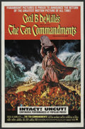 "Movie Posters:Historical Drama, The Ten Commandments (Paramount, R-1966). One Sheet (27"" X 41"").Historical Drama. ..."