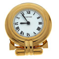 Timepieces:Clocks, Cartier Alarm Colisee Travel Clock. ...