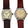 Timepieces:Wristwatch, Tissot & Waltham Manual Wind Wristwatches. ... (Total: 2 Items)