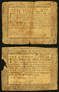 Colonial Notes:Maryland, Maryland December 7, 1775 $1/9 and $1/3 Notes.. ... (Total: 2notes)
